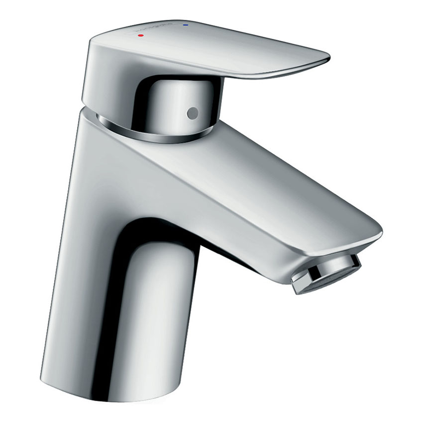 hansgrohe Logis Single Lever Basin Mixer 70 with Metal Pop-up Waste - 71170000