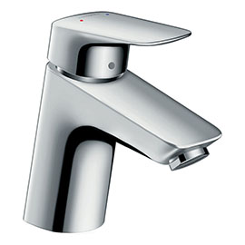 hansgrohe Logis Single Lever Basin Mixer 70 LowFlow with Pop-up Waste - 71078000