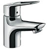hansgrohe Novus Loop 70 Single Lever Basin Mixer with Pop-up Waste - 71080000 profile small image view 1