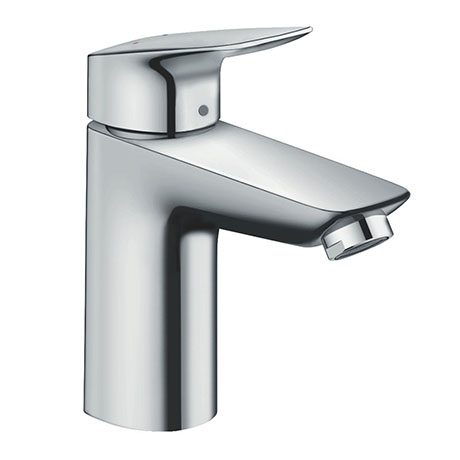 hansgrohe Logis Single Lever Basin Mixer 100 with Pop-up Waste - 71100000