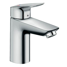 hansgrohe Logis Single Lever Basin Mixer 100 CoolStart with Pop-up Waste - 71102000