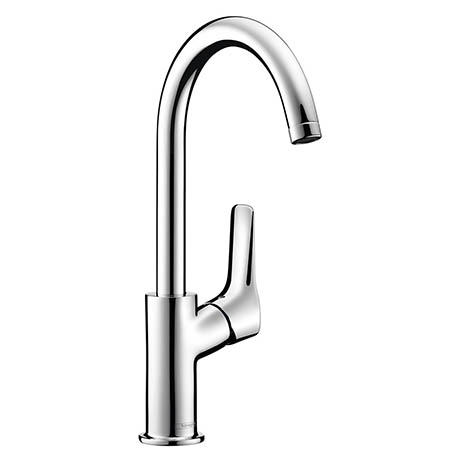 Hansgrohe MySport Single Lever Basin Mixer with Swivel Spout and Pop-up Waste - 71113000