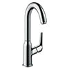 hansgrohe Novus 240 Single Lever Basin Mixer with Swivel Spout - 71128000 profile small image view 1
