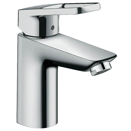 Hansgrohe Logis Loop Single Lever Basin Mixer 100 Tap with Pop-up Waste - 71151000