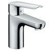 Hansgrohe Logis E Single Lever Basin Mixer 70 Tap with Pop Up Waste - 71160000 profile small image view 1