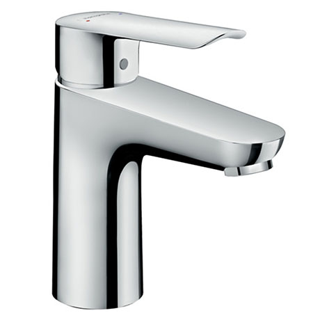Hansgrohe Logis E Single Lever Basin Mixer 100 Tap with Pop Up Waste - 71161000