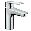 hansgrohe Logis E Single Lever Basin Mixer 100 Tap with Pop Up Waste - 71161000 profile small image view 1