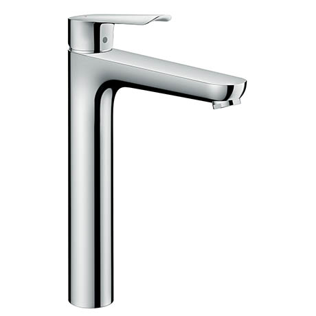 Hansgrohe Logis E Single Lever Basin Mixer 230 with Pop-up Waste - 71162000