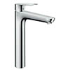 Hansgrohe Logis E Single Lever Basin Mixer 230 with Pop-up Waste - 71162000 profile small image view 1