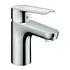 Hansgrohe Logis E Single Lever Basin Mixer 70 CoolStart with Pop-up Waste - 71164000 profile small image view 1