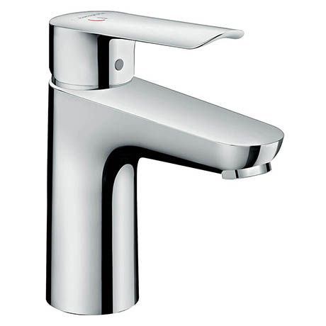 Hansgrohe Logis E Single Lever Basin Mixer 100 CoolStart with Pop-up Waste - 71165000