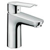 Hansgrohe Logis E Single Lever Basin Mixer 100 CoolStart with Pop-up Waste - 71165000 profile small image view 1
