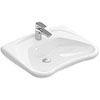 Villeroy and Boch ViCare 600mm Wheelchair Accessible Washbasin - 71196301 profile small image view 1