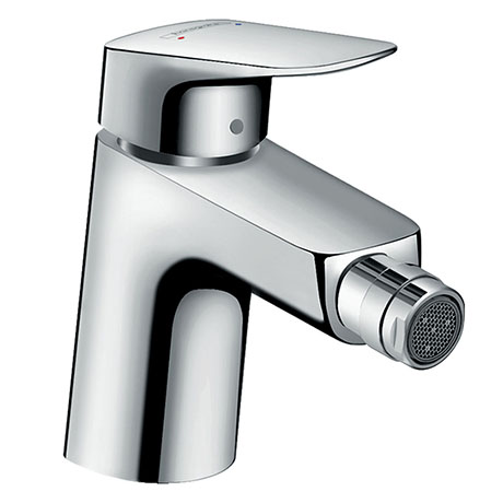 hansgrohe Logis Single Lever Bidet Mixer 70 with Metal Pop-up Waste - 71203000