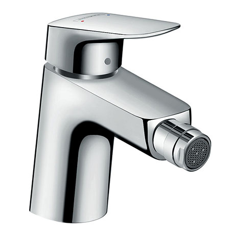 hansgrohe Logis Single Lever Bidet Mixer 70 with Pop-up Waste - 71204000