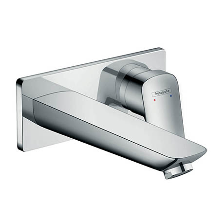 hansgrohe Logis Wall Mounted Single Lever Basin Mixer with Waste - 71220000