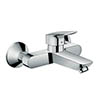hansgrohe Logis Wall Mounted Single Lever Basin Mixer - 71225000 profile small image view 1