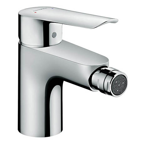 Hansgrohe Logis E Single Lever Bidet Mixer with Pop-up Waste - 71232000
