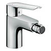 Hansgrohe Logis E Single Lever Bidet Mixer with Pop-up Waste - 71232000 profile small image view 1