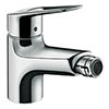 Hansgrohe Novus 70 Single Lever Bidet Mixer with Pop-up Waste - 71233000 profile small image view 1