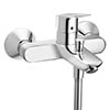 hansgrohe MyCube Exposed Single Lever Bath Shower Mixer - 71241000 profile small image view 1