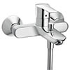 Hansgrohe MySport Exposed Single Lever Bath Shower Mixer - 71242000 profile small image view 1