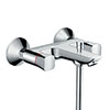 hansgrohe Logis Wall Mounted Bath Shower Mixer - 71243000 profile small image view 1