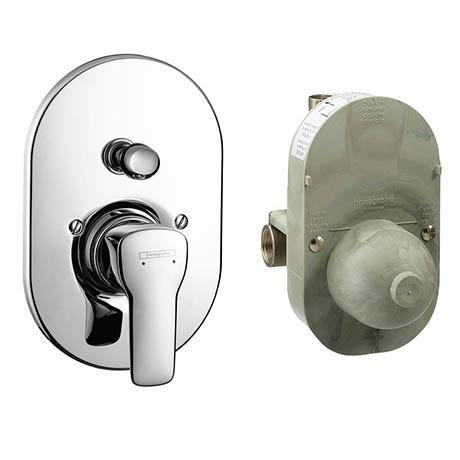Hansgrohe MySport Concealed Bath Shower Mixer Set - 71246000