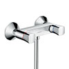 hansgrohe Logis Wall Mounted Shower Mixer - 71263000 profile small image view 1