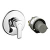 Hansgrohe MySport Concealed Shower Mixer Set - 71266000 profile small image view 1