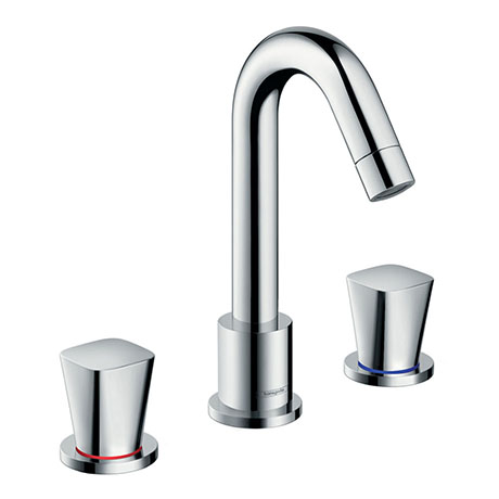 hansgrohe Logis 3-hole Deck Mounted Bath Mixer - 71300000