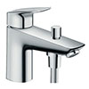 hansgrohe Logis Monotrou Single Lever Bath Shower Mixer - 71312000 profile small image view 1