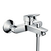 hansgrohe Logis Exposed Single Lever Bath Shower Mixer - 71400000 profile small image view 1