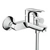 hansgrohe Logis E Exposed Single Lever Bath Shower Mixer - 71403000 profile small image view 1