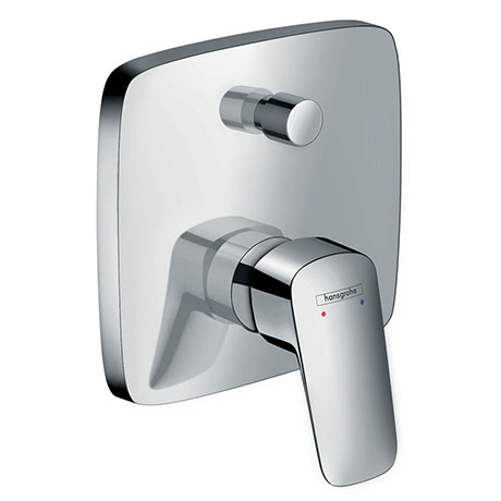 hansgrohe Logis Concealed Single Lever Manual Bath Mixer with Backflow Prevention - 71407000