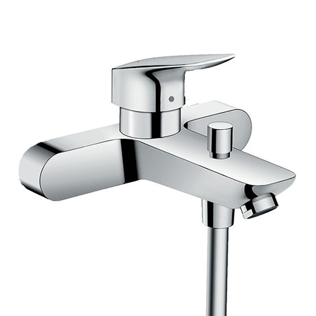 hansgrohe Logis Exposed Single Lever Bath Shower Mixer (153mm Centres) - 71430000