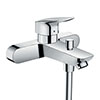 hansgrohe Logis Exposed Single Lever Bath Shower Mixer (153mm Centres) - 71430000 profile small image view 1