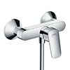 hansgrohe Logis Exposed Single Lever Manual Shower Mixer - 71600000 profile small image view 1