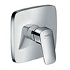 hansgrohe Logis Concealed Single Lever Manual Shower Mixer - 71605000 profile small image view 1