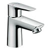 hansgrohe Talis E 80 Single Lever Basin Mixer with Pop-up Waste - 71700000 profile small image view 1