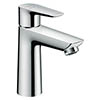 Hansgrohe Talis E Single Lever Basin Mixer 110 CoolStart with Pop-up Waste - 71713000 profile small image view 1