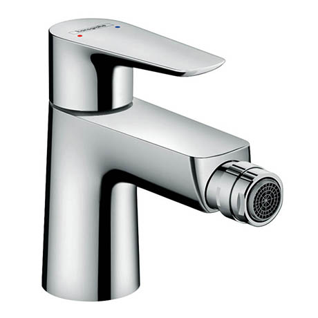 Hansgrohe Talis E Single Lever Bidet Mixer with Pop-up Waste - 71720000