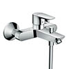 hansgrohe Talis E Exposed Single Lever Bath Shower Mixer - 71740000 profile small image view 1