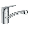 hansgrohe Logis M31 Single Lever Kitchen Mixer 120 - 71830000 profile small image view 1