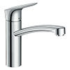 hansgrohe Logis M31 Single Lever Kitchen Mixer 160 - 71832000 profile small image view 1
