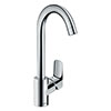 hansgrohe Logis M31 Single Lever Kitchen Mixer 260 - 71835000 profile small image view 1