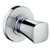 hansgrohe Logis Concealed Shut-Off Valve - 71970000 profile small image view 1
