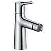 hansgrohe Talis S Single Lever Bidet Mixer with Pop-up Waste - 72200000 profile small image view 1