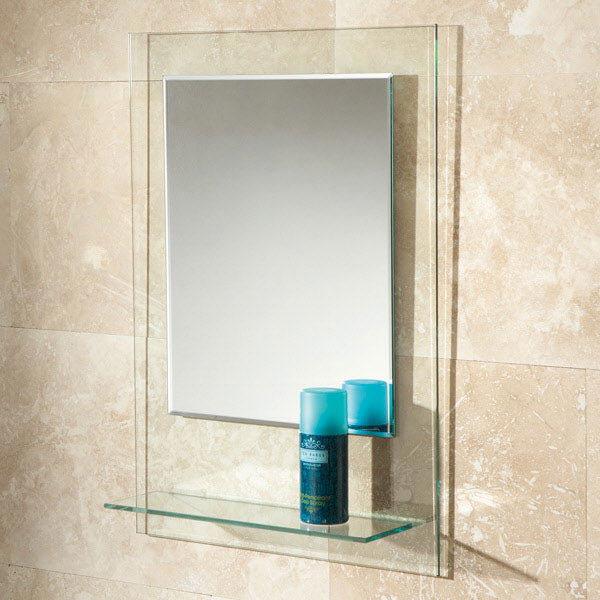 HIB Fuzion Decorative Mirror - 72300100 Large Image