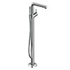 hansgrohe Talis S Floor Standing Single Lever Bath Shower Mixer - 72412000 profile small image view 1